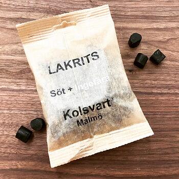 Klassisk lakrits Söt + Ingefära
