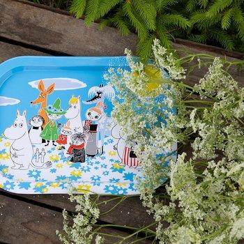 Moomin  Summer Day - Tray