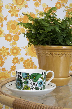 Sensation Green - Cup with Saucer