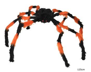 Spider 125cm black orange