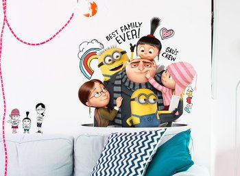 Wallsticker Minions - Best Family