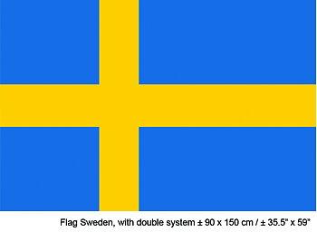 Sweden Flag 90x150cm