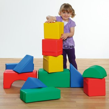 Large soft building blocks - Maxi