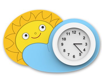 Wall clock  - Sun & Sky