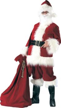 Santa Claus Deluxe Burgundy