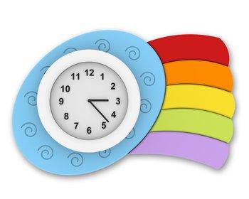 Rainbow Clock