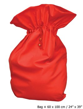 Red Santa Bag Deluxe, 60x100cm