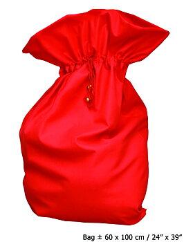 Tomtesäck Deluxe , Röd