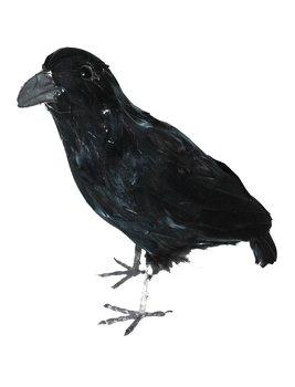 Realistic Crow, 30cm black