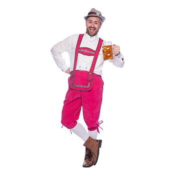 Lederhosen Pink Man