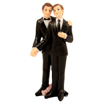 Cake topper Wedding Figure Homo
