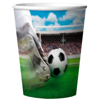 Cups 3-D Football, 8 pc