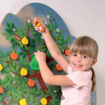 Klättervägg inomhus - Äppelträd