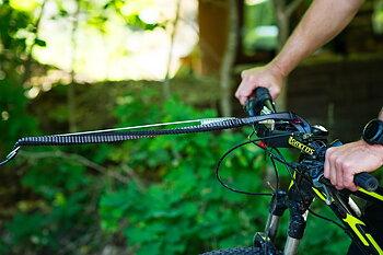 Non-stop dragfäste för cykel/sparkcykel *KLICKFIX*