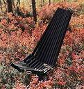 Eco Furn Vilstol svart lärk * Underhållsfri*