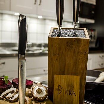 Stora Knivlådan Classic, knivset, knivblock, knivslip