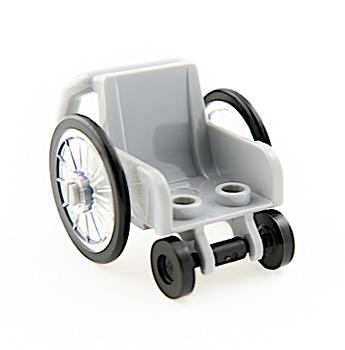 LEGO Rullstol grå