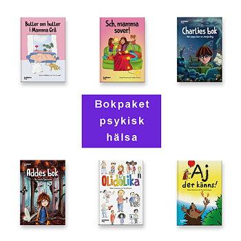 Bokpaketet psykisk hälsa (6 böcker)