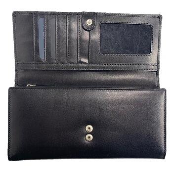 Marc O´Polo Plånbok Stor i Skinn Svart