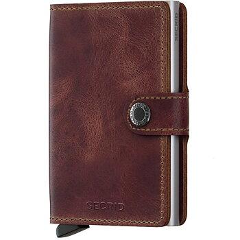 Secrid Miniwallet Vintage Brown Skinnplånbok