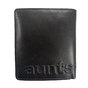 Aunts & Uncles Vintage Plånbok i Skinn Svart