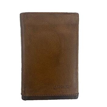 Fanco Rino Plånbok i Skinn Cognac