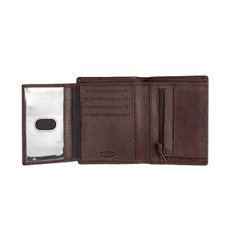 Adriatik Plånbok i Skinn Brun