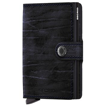 Secrid Miniwallet Dutch Martin Night Blue Skinnplånbok