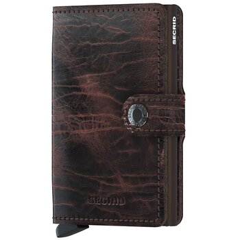 Secrid Miniwallet Dutch Martin Cacao Brown Skinnplånbok