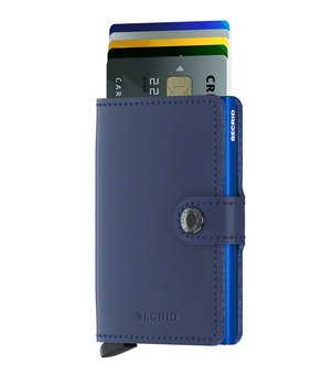 Secrid Miniwallet Original Navy Blue Skinnplånbok