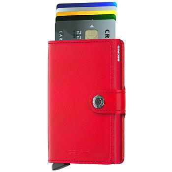 Secrid Miniwallet Original Red Red Skinnplånbok
