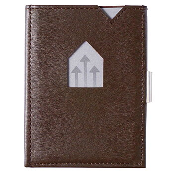 Exentri Plånbok i Skinn Brun