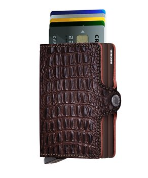 Secrid Twinwallet Nile Brown Skinnplånbok