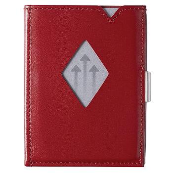 Exentri Plånbok i Skinn Röd
