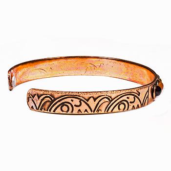 Chakra armband - Koppar