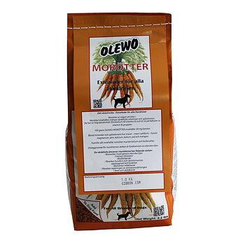 Kosttillskott/Extrafoder Morotspellets 1kg - OLEWO