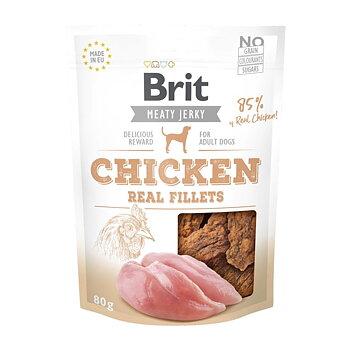 Hundgodis Chicken Fillets 80g - BRIT