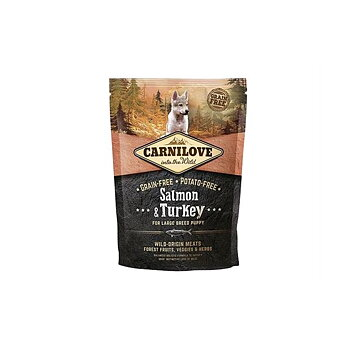 PUPPY Salmon & Turkey 12kg Large Breed - Carnilove