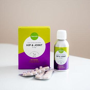Nutrolin Hip & Joint 450ml + 180tbl