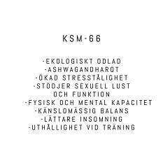 KSM-66 Ekologisk Ashwagandha 120 kapslar