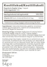 Puori D3 D-vitamin 120 kapslar