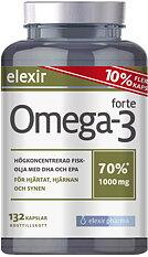 Elexir Pharma Omega-3 Forte 132 kapslar