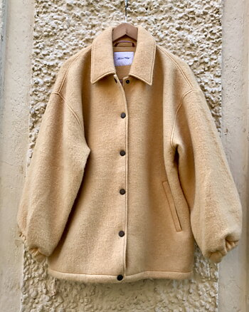 Zalirow coat Peanuts from American Vintage