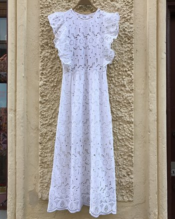 Aurora Dress Lace White from Notshy