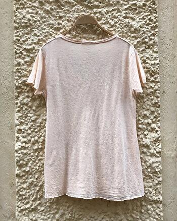 Jacksonville T-shirt Beige Rose Vintage from American Vintage