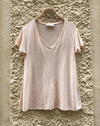 Jacksonville T-shirt Beige Rose Vintage från American Vintage