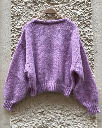 Vogbay Jumper Prunell Chine from American Vintage