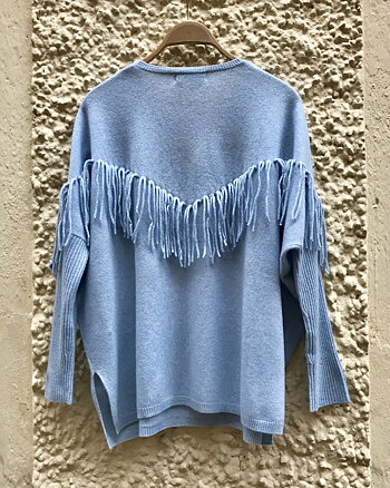 Volante Cashmere Jumper Morning Sky from Notshy