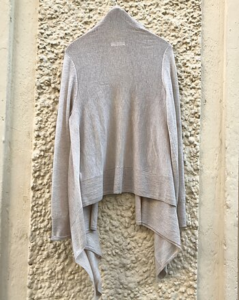 Cashmere Cardigan Beige from Majestic Filatures