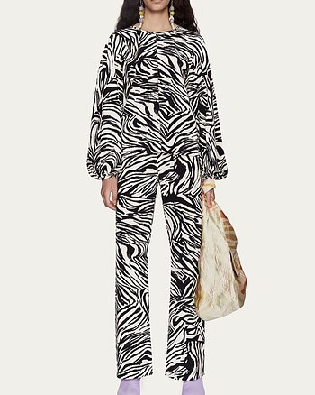 Marc Pants Zebra from Stine Goya